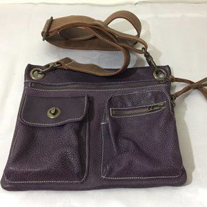 Roots 100% crossbody  leather bag